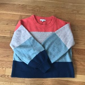 Sold out Madewell Sweater with Balloon Sleeves